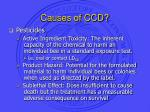 causes of ccd31
