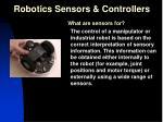 robotics sensors controllers19