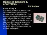 robotics sensors controllers27