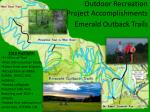 outdoor recreation project accomplishments