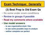 exam technique generally47