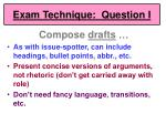 exam technique question i52