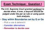 exam technique question i57