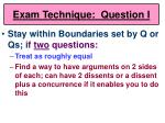 exam technique question i59