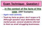 exam technique question i62