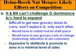 heinz beech nut merger likely effects on competition17