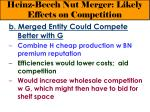 heinz beech nut merger likely effects on competition18