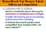 heinz beech nut merger likely effects on competition19