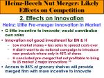 heinz beech nut merger likely effects on competition21