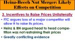 heinz beech nut merger likely effects on competition22