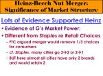heinz beech nut merger significance of market structure11