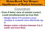 heinz beech nut merger significance of market structure12