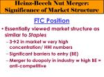 heinz beech nut merger significance of market structure7