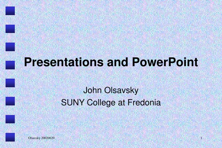presentations and powerpoint n.