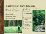 example 2 new england