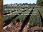 treatments planting