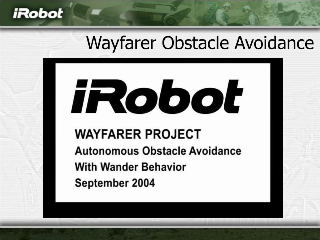 Wayfarer Obstacle Avoidance