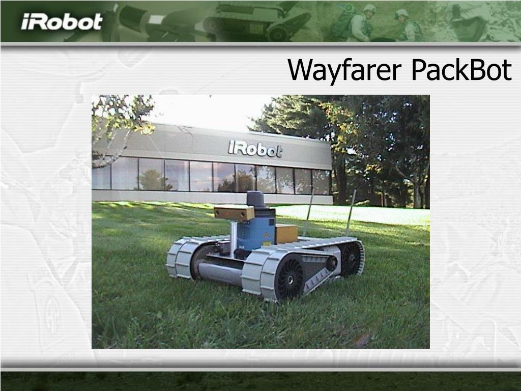 Wayfarer PackBot