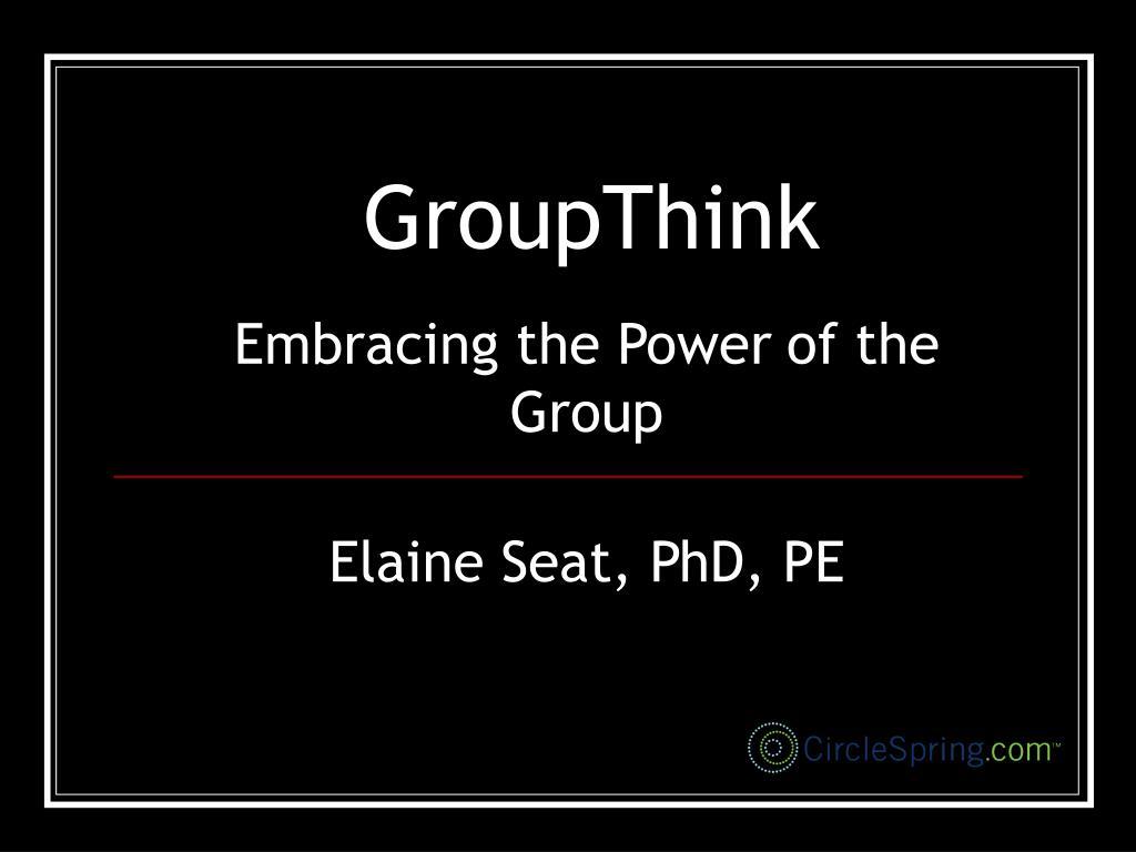 groupthink l.
