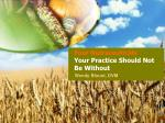 four nutraceuticals your practice should not be without