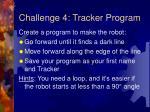 challenge 4 tracker program