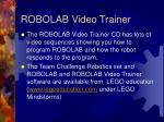 robolab video trainer