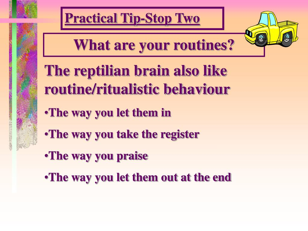 Practical Tip-Stop Two
