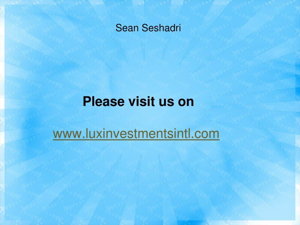 Please visit us on