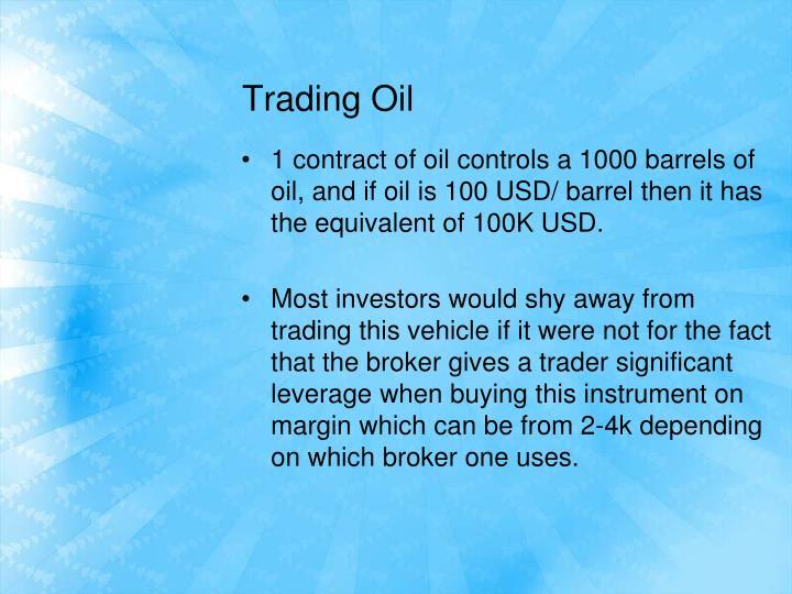 Trading oil2