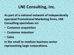 lne consulting inc5