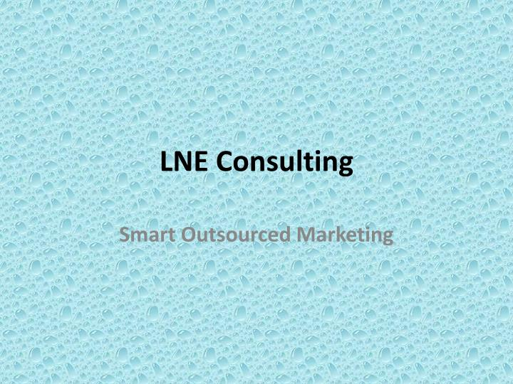 lne consulting n.