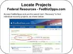 locate projects federal resources fedbizopps com20