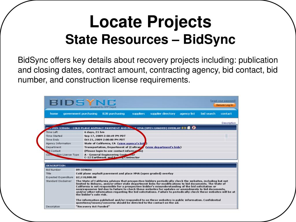 Locate Projects