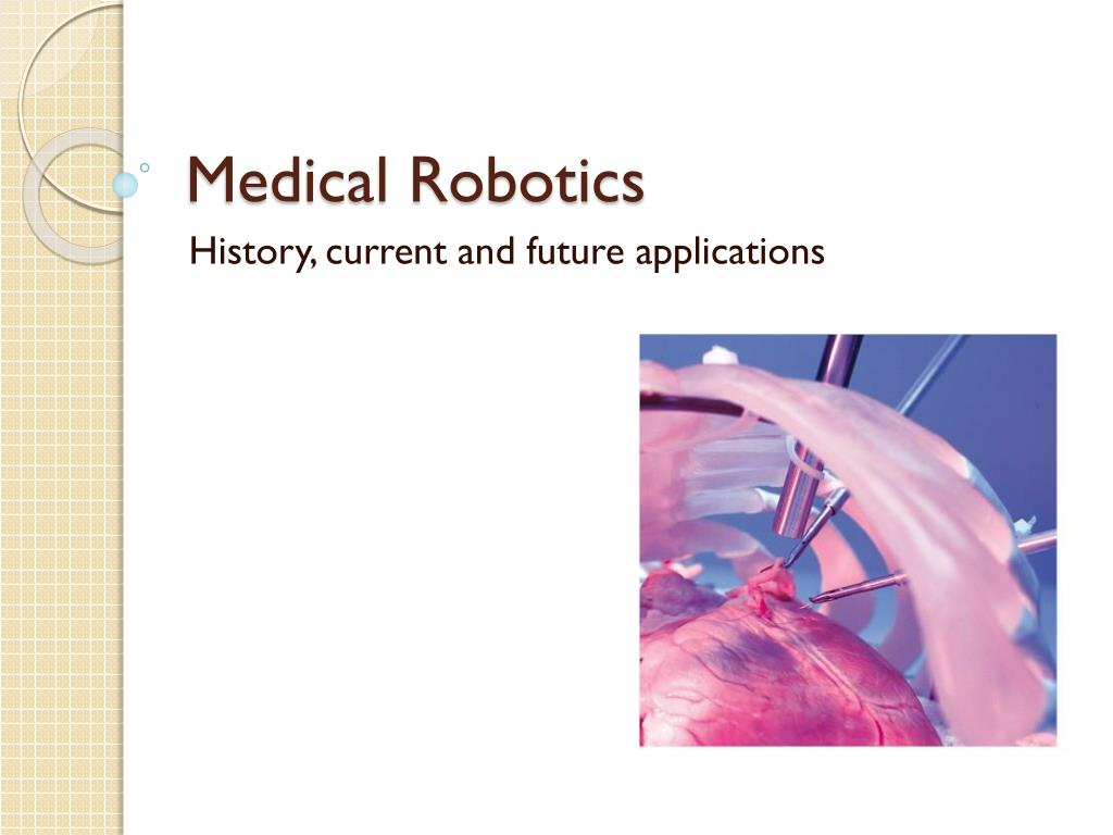 medical robotics l.