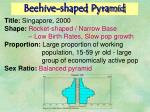beehive shaped pyramid