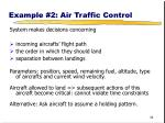 example 2 air traffic control