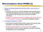 misconceptions about rtdbs 3