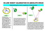 in line robot calibration in absolute space4
