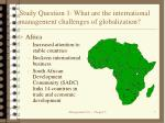 study question 1 what are the international management challenges of globalization7