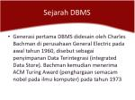 sejarah dbms