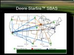 deere starfire sbas