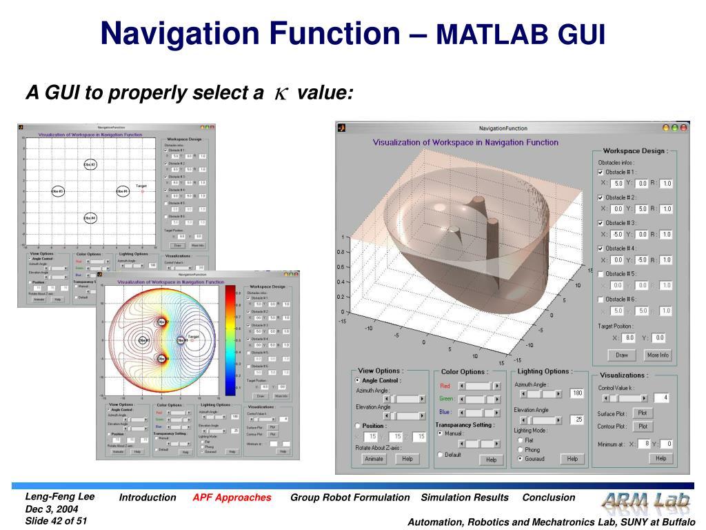Navigation Function –