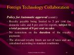 foreign technology collaboration22