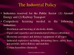 the industrial policy11