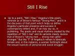 still i rise15