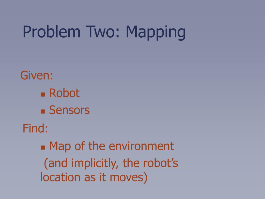 Problem Two: Mapping