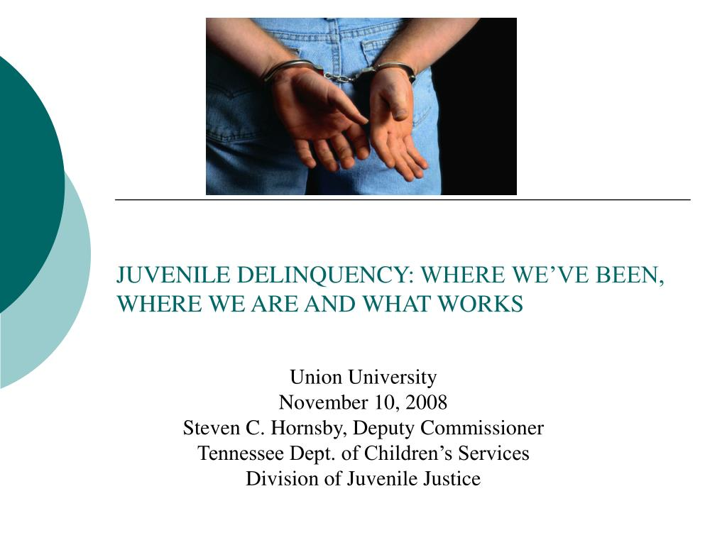 juvenile delinquency where we ve been where we are and what works l.