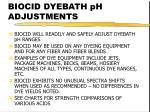 biocid dyebath ph adjustments26