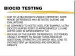 biocid testing