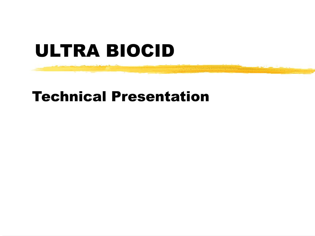 ultra biocid l.